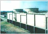 RCC Cooling Tower, Reinforced Cement Concrete Cooling Tower, RCC Draft Cross Counter Flow Cooling Towers, Manufacturers & Exporters of RCC Cooling Tower, Mumbai, India